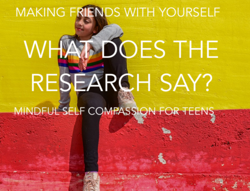 What does the research say about the benefits of participating in Making Friends with Yourself?